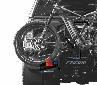 E-Rack 2 with 2 full size ebikes