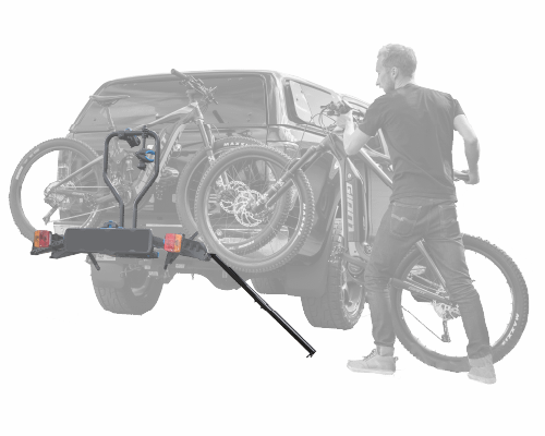 Load ebikes easily with the E-Rack Ramp